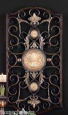 Large Wrought Iron Wall Decor How To Hang Wrought Iron Wall Art Ebay