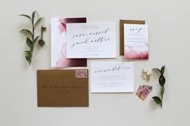 wedding invitation suites custom calligraphy wedding invitation suite two