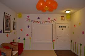 birthday decorations at home ideas new home design