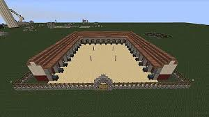 How To Build A Horse Barn In Minecraft Roman Stables 1 6 Ready Minecraft Project