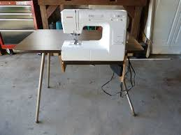 cheap sewing machine cabinets folding sewing machine table