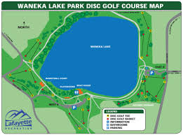 Broomfield Colorado Map by Waneka Lake Disc Golf Course Professional Disc Golf Association