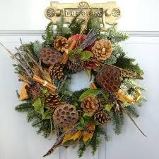fresh christmas wreaths rustic country fresh christmas wreath traditional flower company
