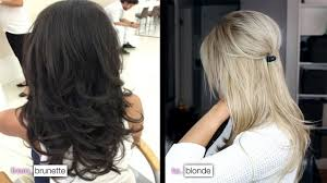 Best At Home Hair Color For Brunettes Diy From Brunette To Blonde U0026 How I Maintain My Color Youtube