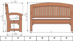 garden bench plans general woodworking the patriot woodworker