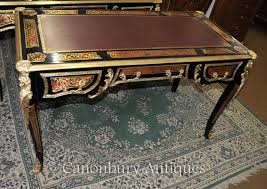 bureau boulle boulle desk writing table buhl inlay bureau plat ebay