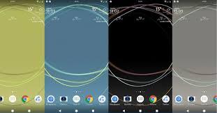 wallpaper bergerak sony xperia download xperia loops live wallpaper from xperia xz premium