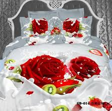 Bed Sheet Sets Wholesale 100 Cotton 3d Printed Gardenia Pattern Bedding Sets