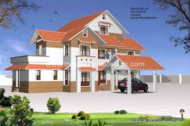 kerala home design 3D View