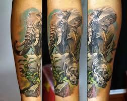 90 rhino tattoo designs for men cool rhinoceros ink ideas