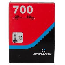 prix chambre à air vélo chambre a air 700x25 32 presta decathlon