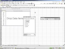 Creating A Pivot Table In Excel Excel 2003 How To Create A Pivot Table In Excel Youtube