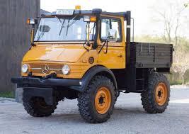 mercedes truck unimog 1980 mercedes unimog 406 u900 bring a trailer