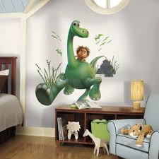 arlo the good dinosaur peel and stick giant wall decals walmart com