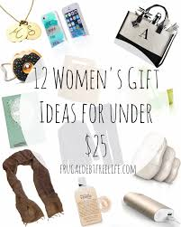 Best Gifts Under 25 by Ladies Gift Guide 12 Gifts For Under 25 U2014 Frugal Debt Free Life