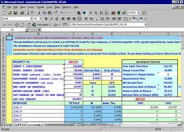 Daily Flow Template Excel Flow Spreadsheets To Analyse Capital
