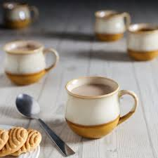 buy unravel india studio pottery coffee cups set of 6 online in