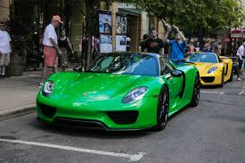 2 porsche 918s ferrari laferrari and more columbus cars and