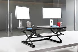 Sit And Stand Computer Desk by Yo Yo Desk 120 The Ultimate Sit Stand Desk Riser