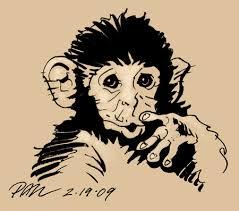 blue moon studios u2013 monkey sketch