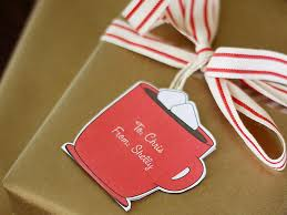 how to make customizable gift tags diy