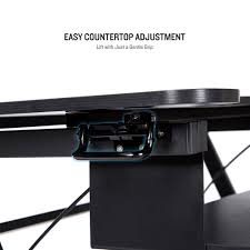 Desk Height Adjusters by Amazon Com Standing Desk Beegod Sit Stand Workstation Desk