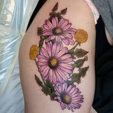 100 pretty daisy tattoo designs and meanings 2017 collection