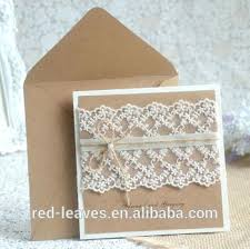wedding invitations box craft paper wedding invitations paper card paper rustic wedding