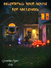 Halloween Yard Lighting Grandma Agnes U0027 Attic Teen Halloween Party Pre Planning