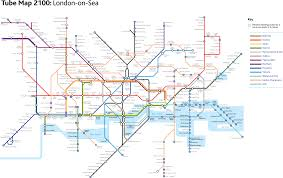 London On Map Subway Maps Gerry Canavan