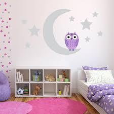 Purple Wall Decals For Nursery Nursery Wall Stickers Nursery Wall Decals For Baby