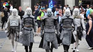 Wildfire White Walkers by Winter Is Here White Walkers Descend On London Nbc Connecticut