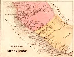 Liberia Map View Of Letters And Notes On Liberia 1828 U20131834 Vestiges Traces