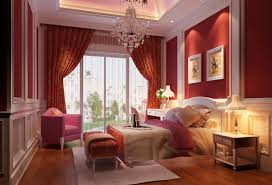 romantic master bedroom with victorian furnishings also light