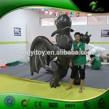 Toothless Costume Factory Price Vivid Pvc Inflatable Toothless Costume Inflatable