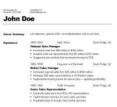 resume formating resume format usa resume sle