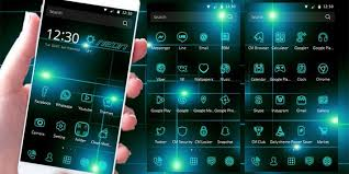 thema apk neon tech light theme apk free personalization app for