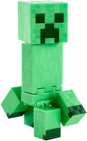minecraft exploding creeper 5 figure toys