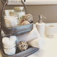 Bathroom Apothecary Jar Ideas by I Really Like The Versatility Of This Stand And That It Fits Under