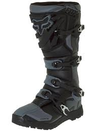 motocross boots size 5 fox black grey 2018 comp 5 offroad mx boot fox
