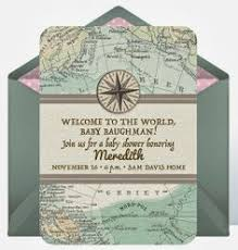 welcome to the world baby shower welcome to the world one customized baby shower invitation