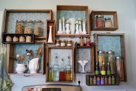 küche aufbewahrung küche wand aufbewahrung alte schubladen ideen altbautraum