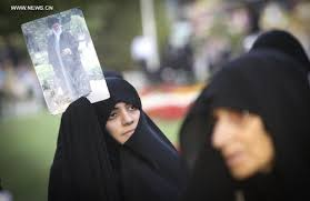 iranian women protest against violation of strict islamic dress