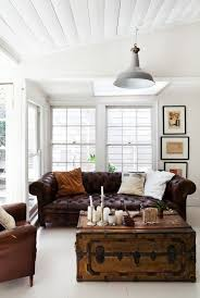 Leather Brown Sofas 25 Ways To Integrate A Chesterfield Sofa Into Your Interior Digsdigs