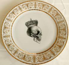halloween tableware 2 piece skull dinnerware plate set halloween dishes china