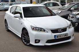 lexus ct 200h wessex garages used lexus ct 200h f sport cvt on feeder road in
