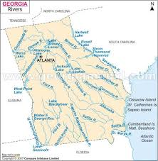 Georgia rivers images River map jpg