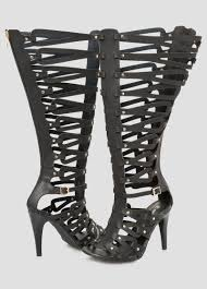caged tall gladiator sandal wide calf shoes ashley stewart 068 ash
