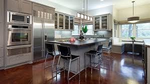 image de cuisine ouverte idées de cuisine ouverte au design contemporain
