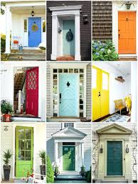 articles with front door color ideas for white house with black